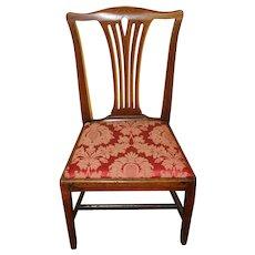 Late 18th Century George III Mahogany Side Chair