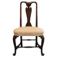 Massachusetts Queen Anne Side Chair