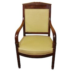 French Empire Fauteuil