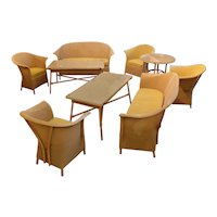 Set of Lloyd Loom Porch Furniture