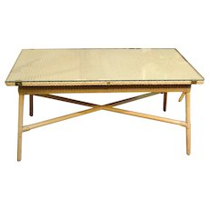 Mid 20th Century Rectangular Coffee Table by Lloyd Loom