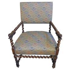 Walnut Arm Chair