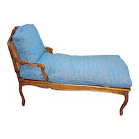 Late 18th Century Country French Chaise Lounge