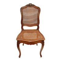 Late 19th Century Louis XV Style Walnut Side Chair