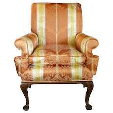 Late 19th Century Queen Anne Style Easy Chair
