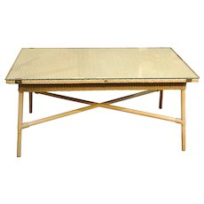 Mid-20th Century Rectangular Coffee Table by Lloyd Loom