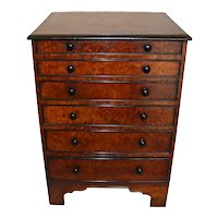 Mid-Nineteenth Century English Collector's Chest