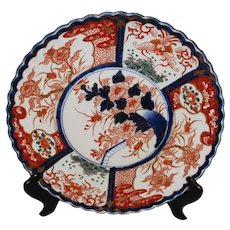 17th Century Imari Scalloped Charger