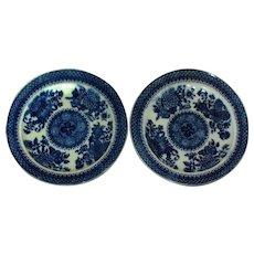 Early 19th Century Pearlware Plates - A Pair