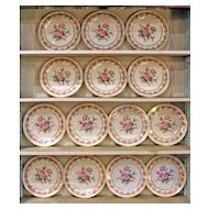 "Set of 12 Rosenthal ""Vienna"" Service Plates"