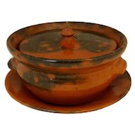 Ben Owen Jugtown Vegetable Dish & Tray