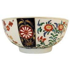 Worcester c. 1765-90 Porcelain Bowl