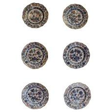 Set of 6 Meissen Plates