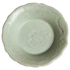Yuan-Ming Transitional Celedon Dish