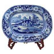c.1830 Staffordshire Platter