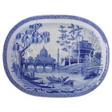 c. 1820 Tiber River Meat Platter