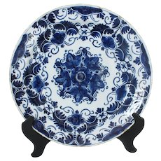 c. 1780 Delft Charger