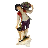 The Grape Harvester Figurine
