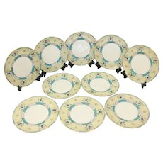 Set Of 10 Royal Doulton Service Plates