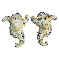 A Pair of Wall Pockets, Formantreaux