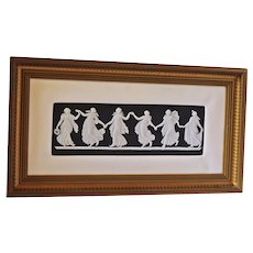 """Dancing Hours 2"" Wedgewood Plaque"
