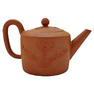 Small Redware Teapot
