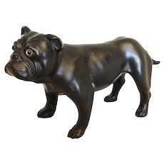 Wedgwood Basalt Bulldog