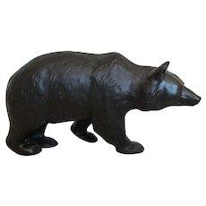 Wedgwood Basalt Bear