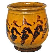 Tortoise Glaze Confit Pot