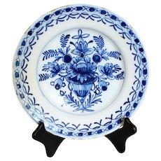 c. 1800-1820 Delft Soup Plate