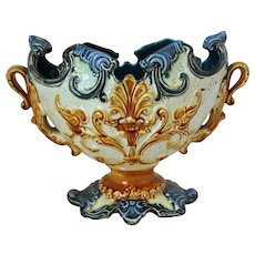 French Majolica Jardinere
