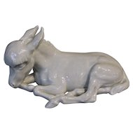 Meissen Donkey by Erich Oehme
