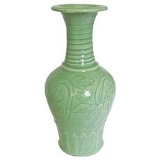 Lung-ch'uan Celadon Vase