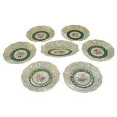 Set of 6 Plates by Schumann