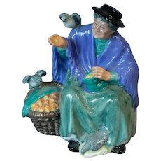 "Royal Doulton's ""Tuppence A Bag"" figure"