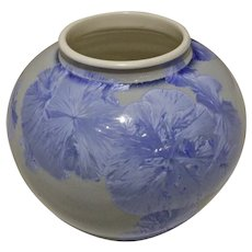 Sid Oakley Crystalline Glaze Vase