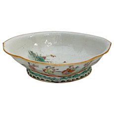 Chinese Export Serving Bowl