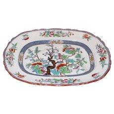 Mid 19th Century English Staffordshire Minton Pattern Platter