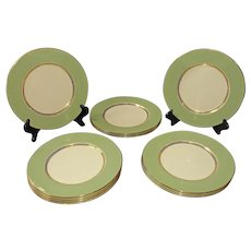 20th Century Set of 12 Service Plates by Lenox
