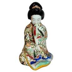 Mid-Late 19th Century Japanese Erotica Porcelain Geisha Figure