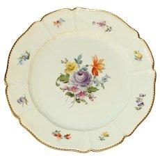 Western German Nymphenburg Dinner Plate
