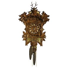 Black Forest 19th Century Cuckoo Clock