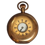 Waltham Peep Hole Pocket Watch