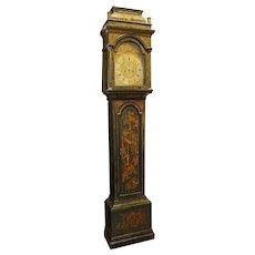 Georgian Chinoiserie Tall Case Clock