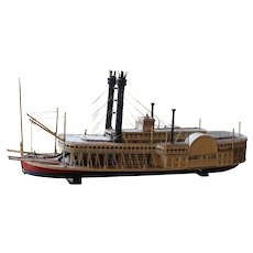 Wooden Model of the Robert E. Lee