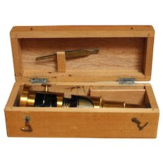 Field Microscope with Case