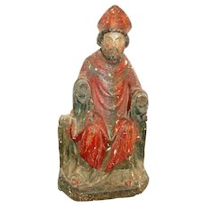 17th Century Statue of St. Nicholas