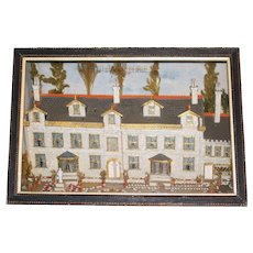 Mid-19th Century English Diorama of Stanfield Hall