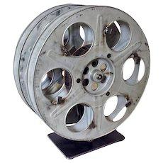 Vintage Film Reel Wine Rack