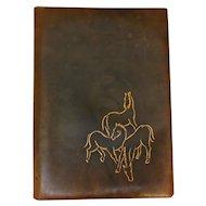 German Leather Artist's Folio